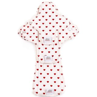 EH Moon Pads Trial-Set white hearts 3er-Set