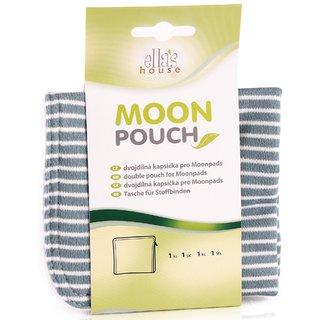 EH Moon Pouch Bindentäschen blue stripes