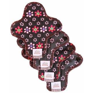 EH Moon Pads Mini Slipeinlage flowers 4er-Set