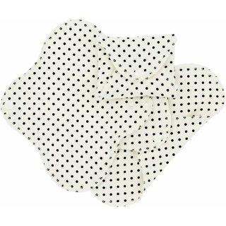 ImseVimse Flügelbinden Bio-BW Panty Liner Black Dots