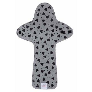 EH Moon Pads Maxi Slipeinlage hearts black/grey